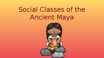 Social Classes of the Ancient Maya Pack