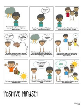 Social Comic Strip--Positive Mindset
