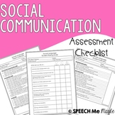Social Communication Assessment Checklists