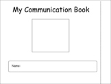 Social Communication Book with Zones of Regulation