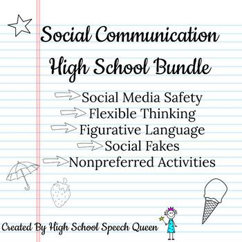 Social Communication Bundle