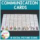 Social Communication Cards PECS Autism