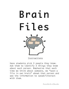 Social Communication & Perspective Taking: Brain Files