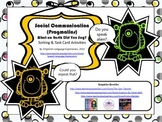 Social Communication (Pragmatics) Skills Task Cards and Activities