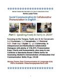 Social Communication & ESL Pronunciation Part 5 Speaking F