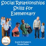 Social Communication and Relationship Skills for Elementar