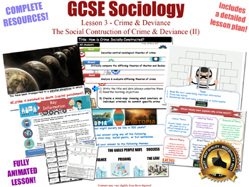 Social Construction of Crime - Crime & Deviance L3/20 (GCSE Sociology)