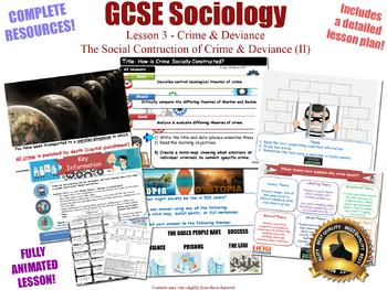 Social Construction of Crime - Crime & Deviance L3/20 (GCSE Sociology)