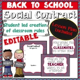 Social Contract (Classroom Rules) Lesson Plan - CHEVRON
