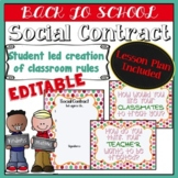 Social Contract (Classroom Rules) Lesson Plan - Polk-a-dots