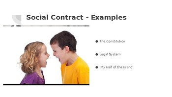 Social Contract, Liberty, and Patriotism Slideshow