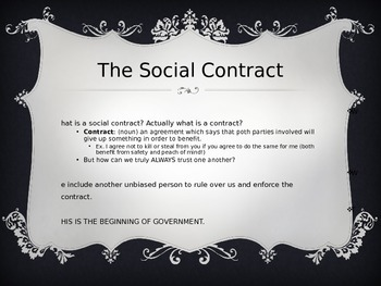Social Contract Theory PowerPoint