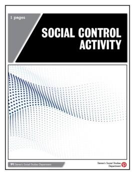 Social Control Activity