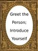 Social Corner - Pragmatic Language Skills