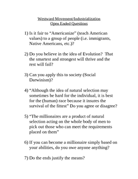 Social Darwinism discussion quotes