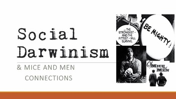 Social Darwinism in Of Mice and Men PowerPoint