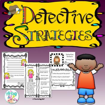 Detective Strategies for Social Skills {Low Prep}