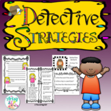 Detective Strategies for Social Skills {Low Prep}