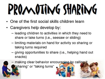 Social Development of Ages 1-3 Powerpoint for FCS Child Development