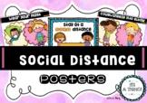 Social Distance posters freebie