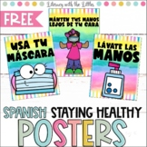 Social Distancing Classroom Posters- in Spanish