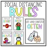 Social Distancing Classroom Rules