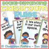 Social-Distancing Classroom Rules Posters(Two Sizes)
