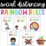 Social Distancing Classroom Rules | Rainbow