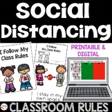 Social Distancing Classroom Rules for Back To School