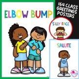 Social Distancing Greetings | Covid 19 Safety Posters | Ba
