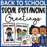 Social Distancing Greetings | Morning Greetings | Back to School