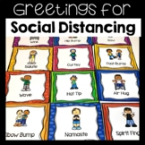 Social Distancing Greetings Posters