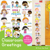 Social Distancing Greetings - Posters, Banner and Pick-a-Stick