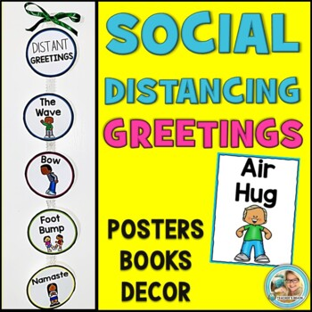 Social Distancing Greetings | Posters | Craft | Mini Books