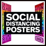 Social Distancing Posters Bundle - Back to School 2021 Cla