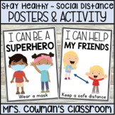 Social Distancing Posters and Writing Activity - COVID 19