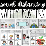 Social Distancing Safety Signs | Farmhouse