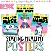 Social Distancing and Healthy Habits Posters