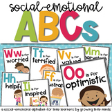 Social Emotional ABCs posters decor