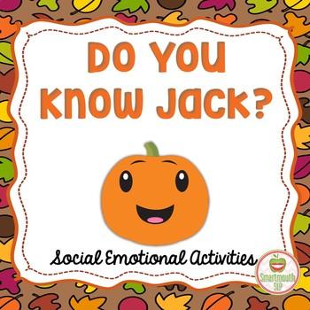 Fall Social Skills Activities