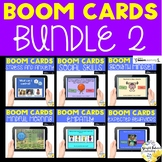 Social Emotional Learning BOOM CARDS Bundle 2 - Counseling Distance Learning SEL