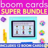 Social Emotional Learning BOOM CARDS Super Bundle Distance Learning SEL