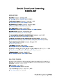 Social Emotional Booklist