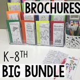 Social Emotional Brochures Elementary & Middle School Bundle