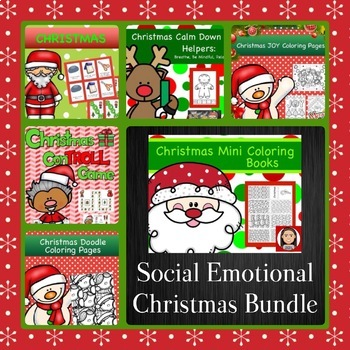 Social Emotional Christmas Bundle