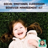 Social Emotional Classroom Behavior Management Kit for Preschool & Kindergarten