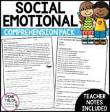 Social Emotional Comprehension Passages - With Reflection