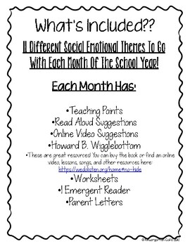 Social Emotional Curriculum!