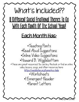 Social Emotional Curriculum!