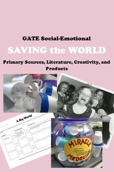 Social Emotional Curriculum for Gifted and Talented GATE K-5 35% Off